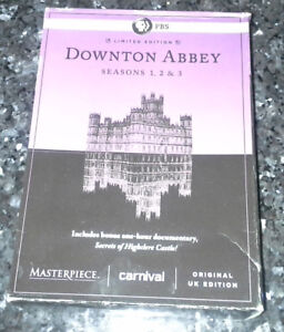 Downton Abbey Seasons 1-3 Box Set DVDs (used)