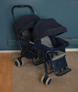 Peg Perego Martinelli double stroller