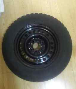 205/65R15 Snow tires (Motomaster XGS) with Rims