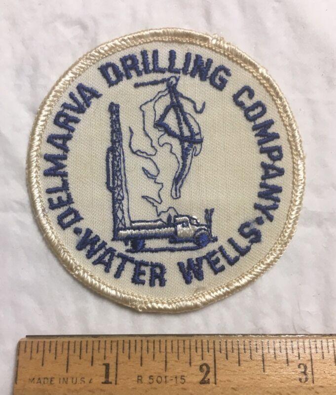 Delmarva Drilling Company Water Wells Delaware DE Round Patch