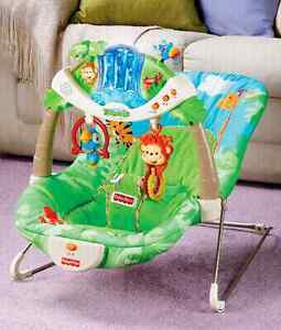Fisher Price Rainforest bouncer in mint condition $25