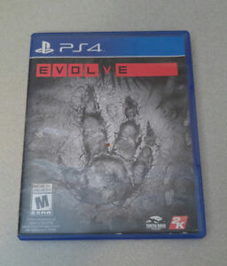 EVOLVE PS4 Never Used