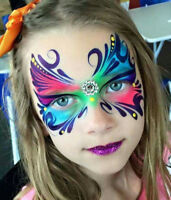 Popular Face painting-Balloon twisting $80/hr cotton candy $35
