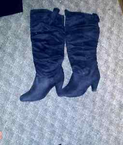 Size 8 knee length boots for sale