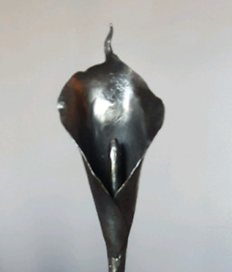 Hand-forged Wrought Iron Calla Lily