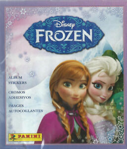 Panini Disney Frozen Sticker Box 50 Sticker Packs Plus Album