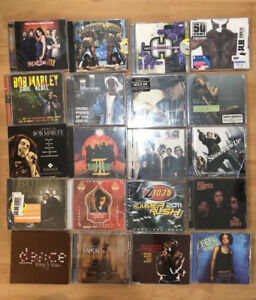 22 various music artists CDs $20 for all