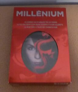 Coffret DVD des 3 films Millenium  en français