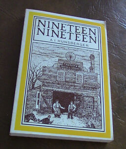 Nineteen Nineteen, A.I. Hunsberger Kitchener / Waterloo Kitchener Area image 1