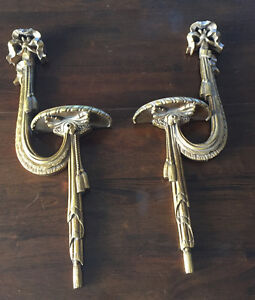 Pair of wall sconces, lovely as is, or Pinterest away!