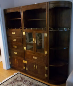 Beautiful Solid Wood Kaufman of Collingwood Wall Unit (4 Pieces)