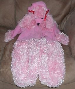 Halloween Costume - Child Size - Pink Poodle