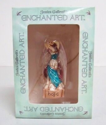 Jessica Galbreth Enchanted Art Fairies - Hope Polystone Ornament  ~ NEW IN BOX