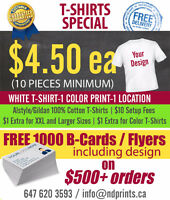 Print T Shirts / Apparel/ Screen Printing