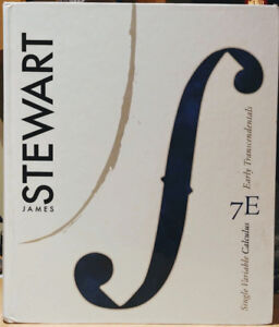 Stewart – Single Variable Calculus: Early Transcendentals 7th Ed