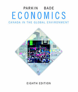 Economics, 8th edition, Parkin and Bade, Hardcover Textbook, NEW London Ontario image 1