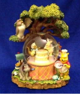 Winnie The Pooh Musical Blower Snow Globe From DISNEY STORE