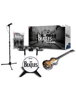 Wii Beatles Rockband limited edition