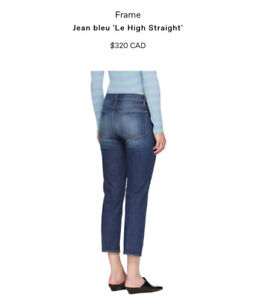 Women Frame Jeans le high straight 29