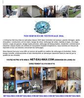 LES SERVICES DE NETTOYAGE DE NET-EAU-MAX INC 2016.