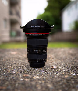 ____#Canon 16-35mm f/2.8 Mk II with lens hood and UV FIlter#____