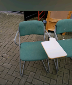 11 school desks and chairs £10 a piece