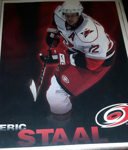 Eric Staal NHL Hockey picture print