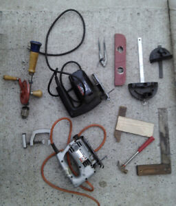 miscellaneous hand tools $25
