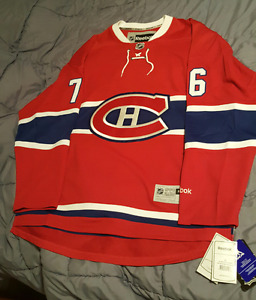 Officially licensed Montreal Canadiens PK Subban Premier Jersey