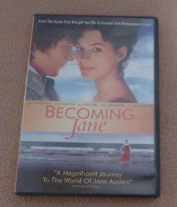 DVD film ''Becoming Jane'' en anglais