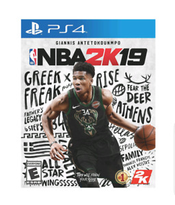 SEALED COPY OF NBA 2K19 FOR PS4