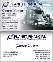 TRUCK LOANS!! IMMEDIATE FUNDS!! CALL US TODAY! 647.409.7501