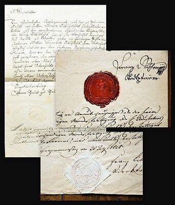 1828 Armutszeugnis Testimonium Paupertatis Böhmen Bohemica