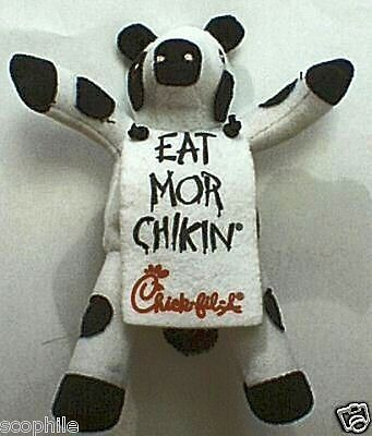 Chick Fil A Cow  Eat More Chikin Cute Plush Collectible Promotional Cow