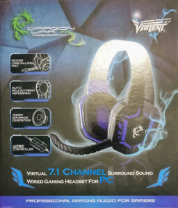 Dragon War 7.1 Channel Headphone $ 25
