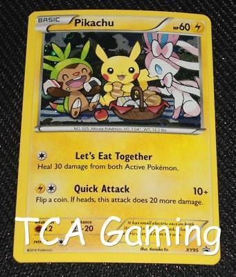 Pikachu XY95 XY Black Star Promo HOLO Pokemon Card NEAR MINT