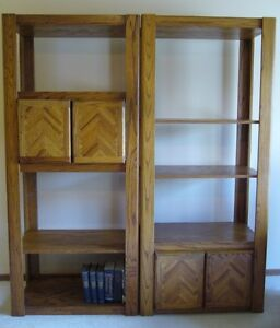 BEAUTIFUL SOLID WOOD WALL UNIT