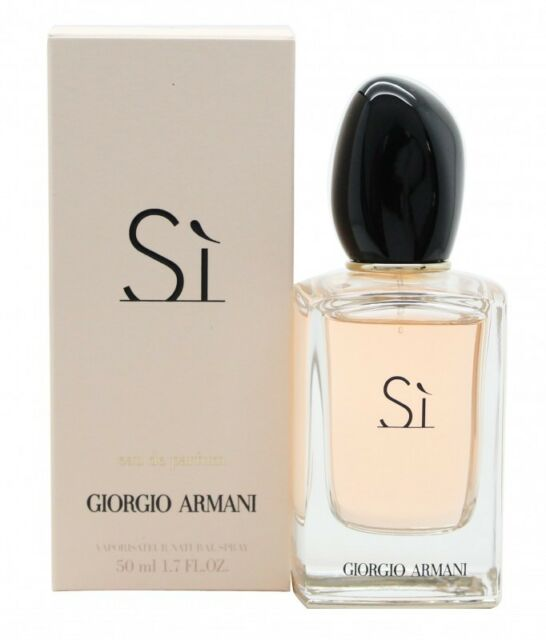 GIORGIO ARMANI SI EAU DE PARFUM 50ML SPRAY - WOMEN'S FOR HER. NEW