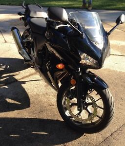 2013 Honda CBR 500 Like New!