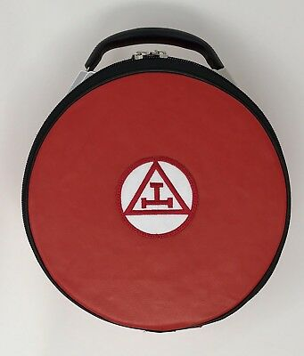New Royal Arch Cap Case In Red with - Royal Arches Collection