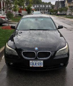 2006 BMW 530i for sale, low kms $9000 obo