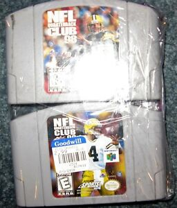 Lot of 2 n64 football games  $5 for the pair