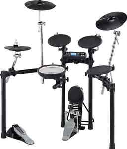 Roland TD-4k with Tama Speed Cobra double pedal