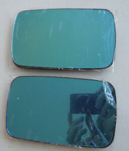 BMW E34 1988 - 94 Blue Heated Mirror Glass