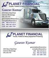 Truck Loans,Fast Approval,Best Rates 647-409-7501