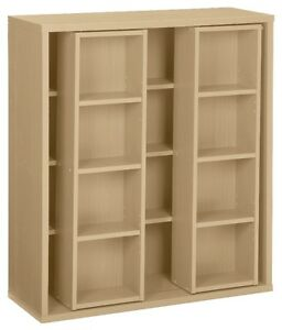 Sliding Shelf Media Cabinet, New