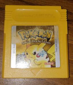 Pokemon Yellow Version for GameBoy