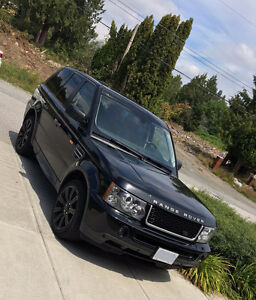2008 Range Rover Sport Supercharged 4 Year extended warranty