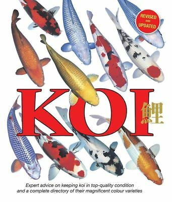 KOI Book (Paperback) Important Advice on Keeping Fish Healthy Spawning Feeding