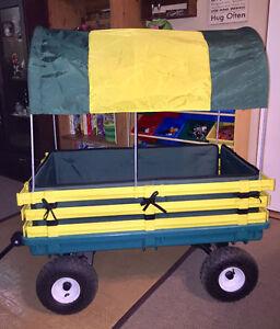 """Millside 20"""" x 38"""" Poly Deck Wagon"""